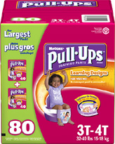 Huggies 3T-4T Pull-Ups Training Pants for Girls