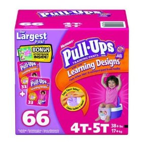 Huggies 4T-5T Pull-Ups Training Pants for Girls