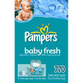 Pampers Baby Fresh Wipes Refill 77 ct.