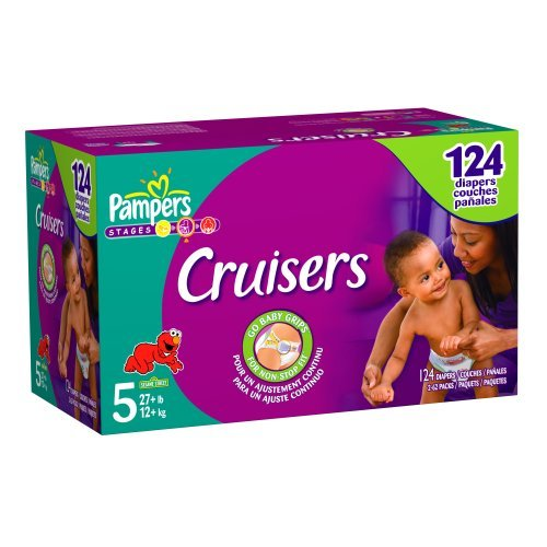 Pampers Cruisers Size 5 JUMBO