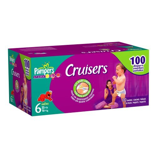 Pampers Cruisers Size 6 JUMBO