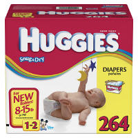 Huggies Diapers Size 1-2 JUMBO