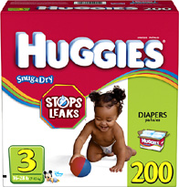 Huggies Diapers Size 3 JUMBO