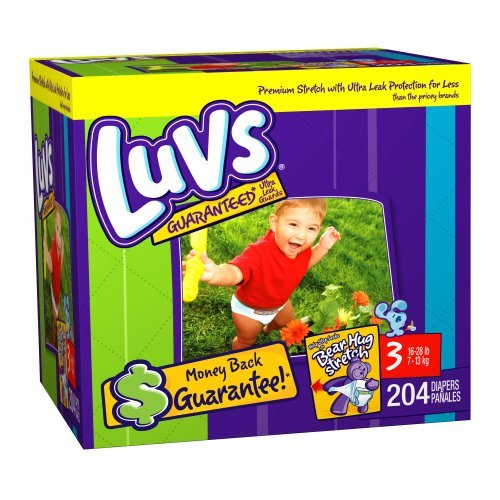 Luvs Diapers Size 3 JUMBO - $35.99 : Baby Deals On Wheels, Baby ...