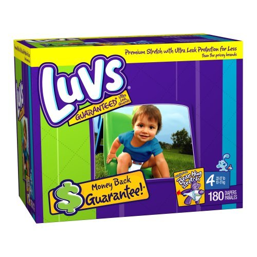 Luvs Diapers Size 4 JUMBO - $35.99 : Baby Deals On Wheels, Baby ...