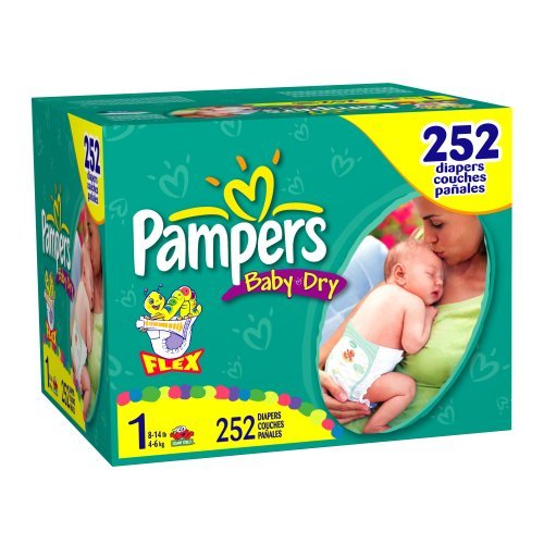 Pampers Baby-Dry Size 1 JUMBO
