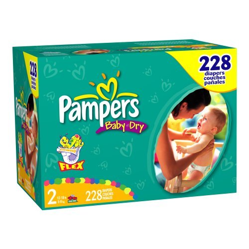 Pampers Baby-Dry Size 2 JUMBO