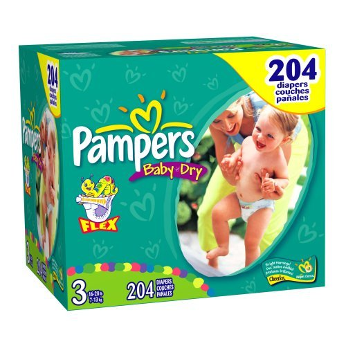 Pampers Baby-Dry Size 3 JUMBO