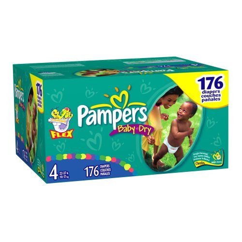 Pampers Baby-Dry Size 4 JUMBO