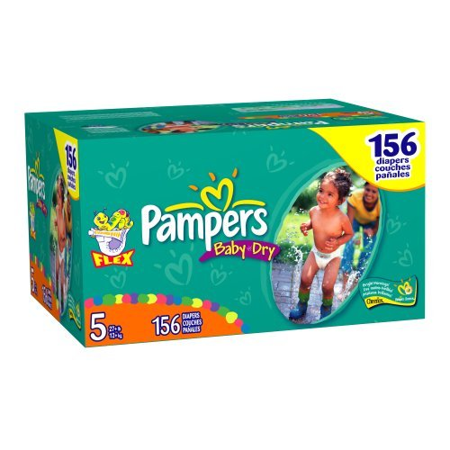 Pampers Baby-Dry Size 5 JUMBO