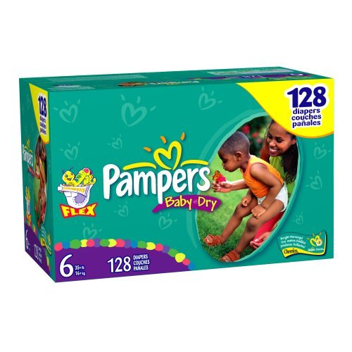 Pampers Baby-Dry Size 6 JUMBO