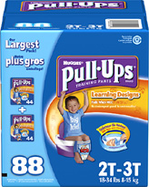 Huggies 2T–3T Pull-Ups Training Pants for Boys