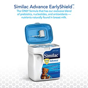 Similac Advance EarlyShield 34 oz