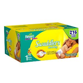 Pampers Swaddlers Size 1 JUMBO