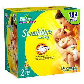 Pampers Swaddlers Size 2 JUMBO