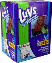 Luvs Wipes Refill 77 count